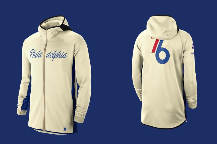 Sixers unveil Earned Edition warm-up