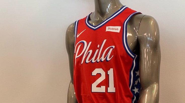 Sixers statement jerseys phila