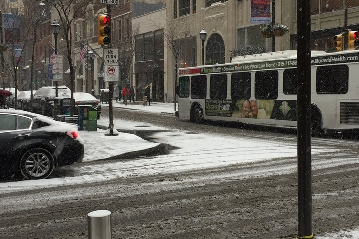 Center City Snow