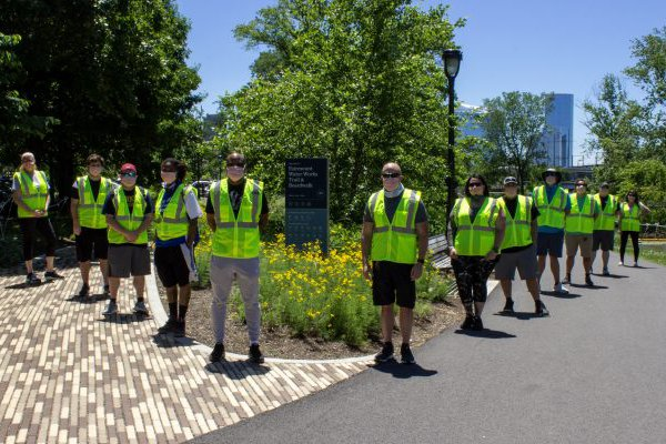 social distancing ambassadors parks