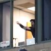 Somerset Patriots announcer catch