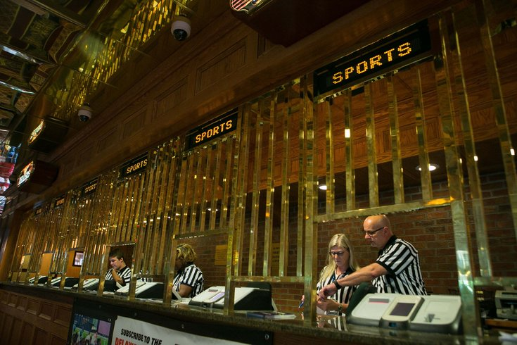 Sports betting window