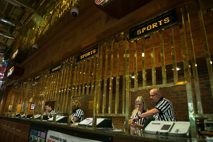 Sports betting window