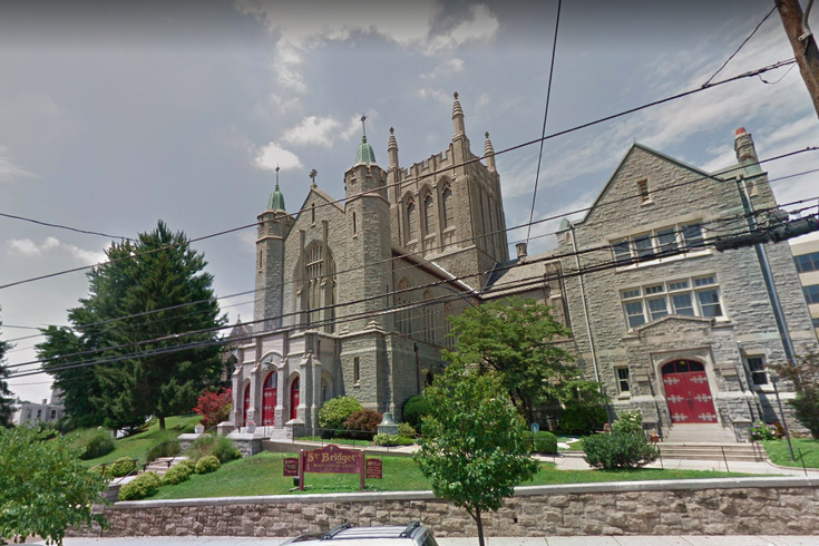St Bridget's Roman Catholic Church in East Falls