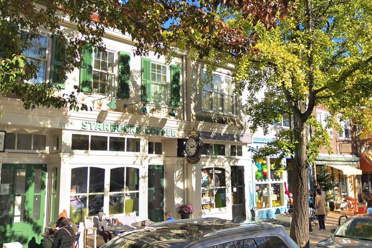 Starbucks germantown avenue chestnut hill