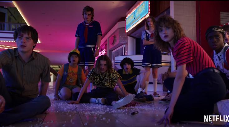 Netflix released the 'Stranger Things' season 3 trailer