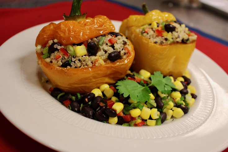 Mexican Quinoa Stuffed Peppers Independence LIVE
