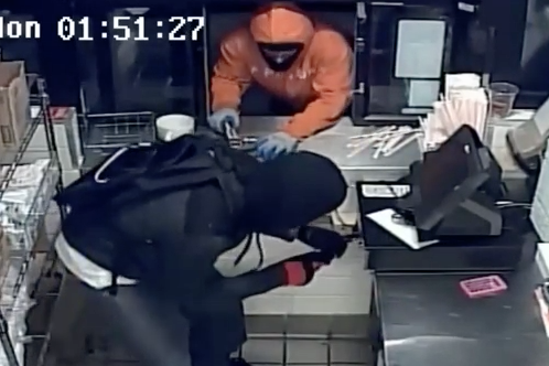 Dunkin Donuts Robberies