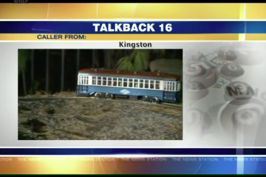 Viewers of Pennsylvania TV news station obsessed with toy train
