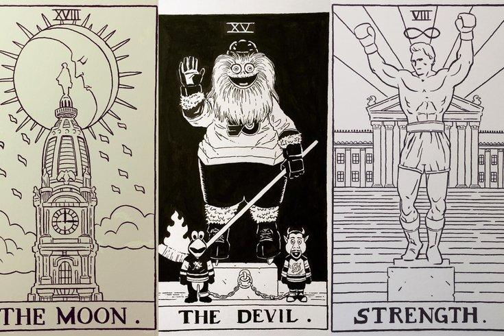 Philly tarot cards