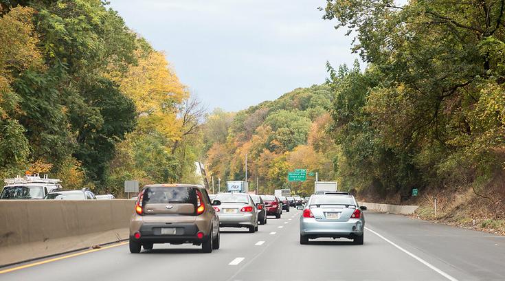 Traffic on I-76 highway
