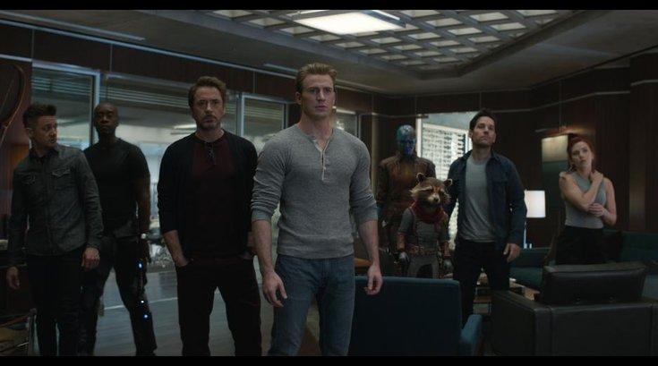 The Avengers in Endgame