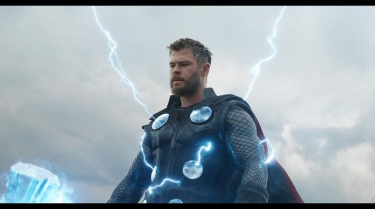 """Chris Hemsworth as Thor in """"Avengers: Endgame"""""""