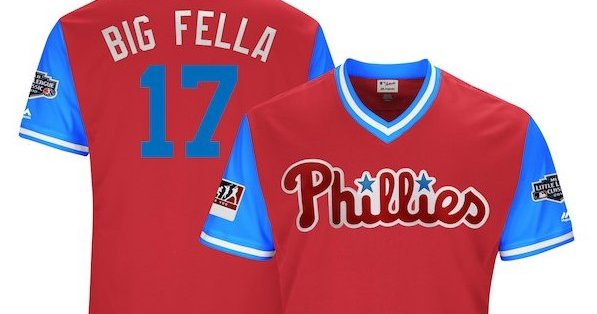 4a7188e49ac Grading some of the Phillies' Players Weekend jersey nicknames | PhillyVoice