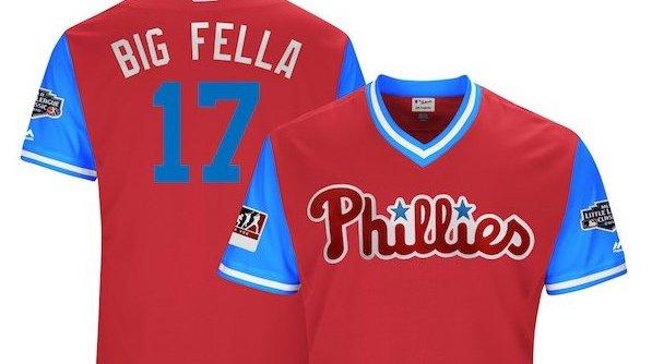 Phillies players weekend jerseys