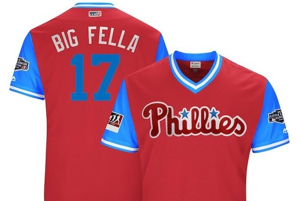 Phillies players weekend jerseys