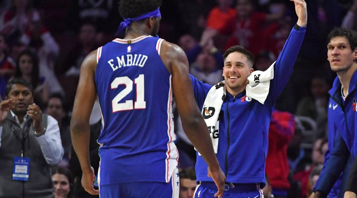 T.J. McConnell Sixers goodbye