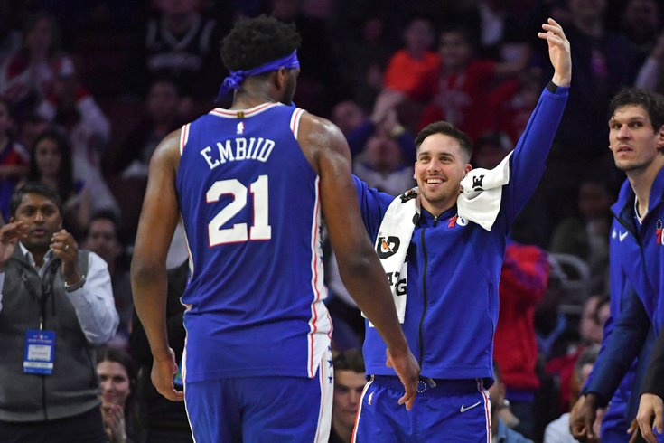 promo code fa760 96a68 T.J. McConnell thanks Sixers fans in goodbye message: 'I ...