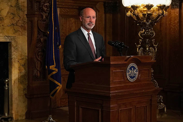 Tom wolf vice president 2020