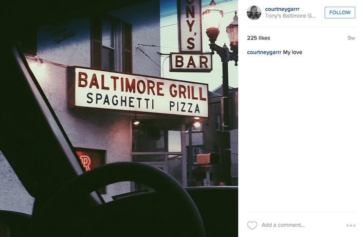 Tonys Baltimore Grill