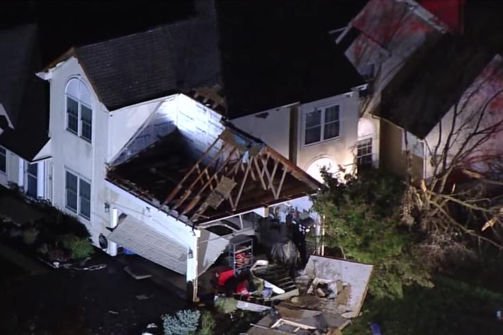 Delaware County tornado halloween