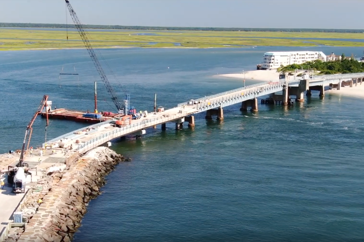 Townsends Inlet Bridge opening july 30