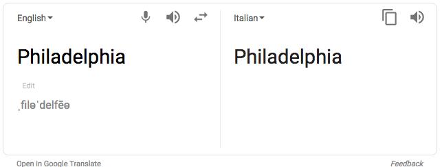 Italian google