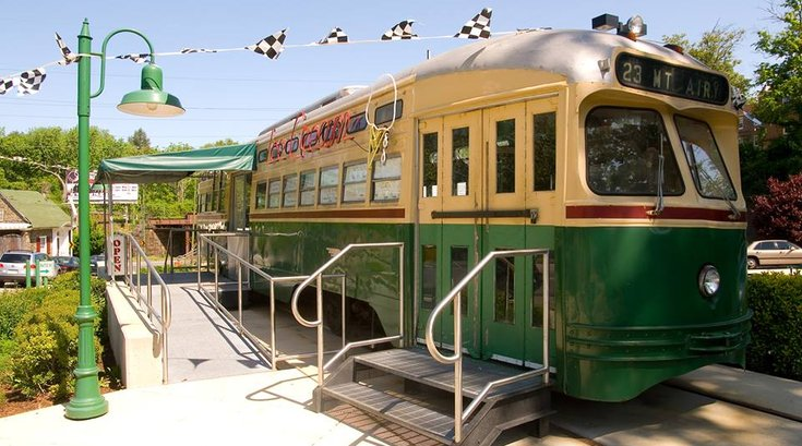 trolley car diner