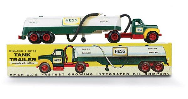 "Battery Removed 2004 HESS Miniature /""Tanker Truck/"" NIB Lights Don/'t Work"