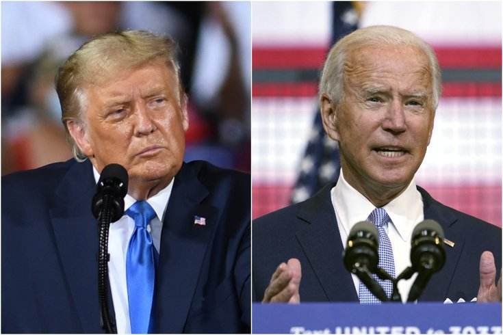 Trump Biden Debate The President And Democratic Challenger Face For Last Time Before 2020 Election Day Phillyvoice