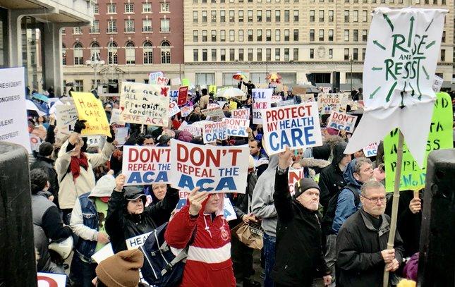 Trump protests Thomas Paine plaza