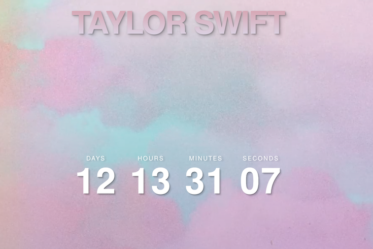 Taylor Swift Countdown