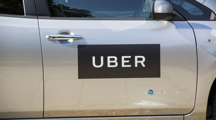 Uber car philly
