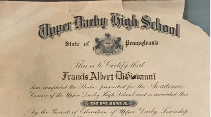 Upper Darby High School Diploma Florida