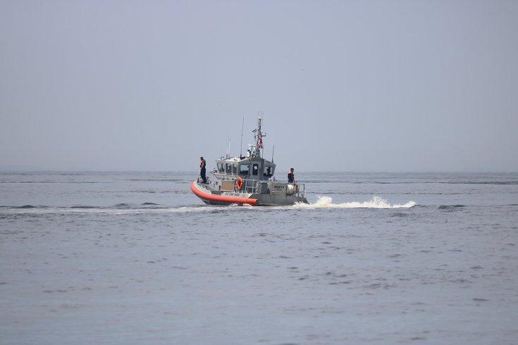 U.S. Coast Guard Station Cape May plane crash