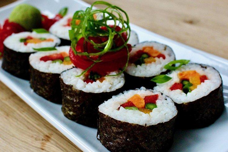 Limited - Veggie Sushi Rolls IBX