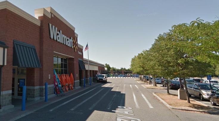 Walmart long island fight