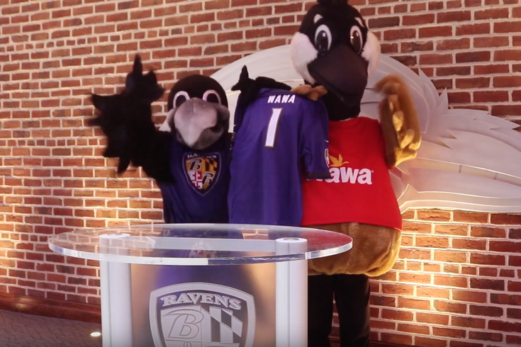 Wawa ravens partnership