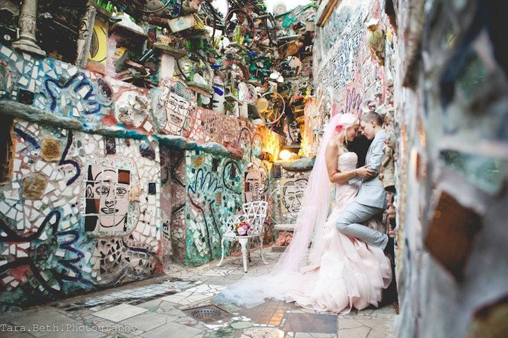Queer Couple Craft Magical Diy Wedding At Philadelphia S Magic