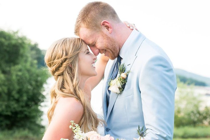 Carson Wentz Wedding.Carson Wentz Shows Off Honeymoon Photos New Tattoo Phillyvoice