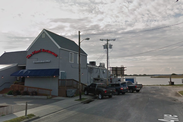 Wildwood naked swimmer wharf restaurant