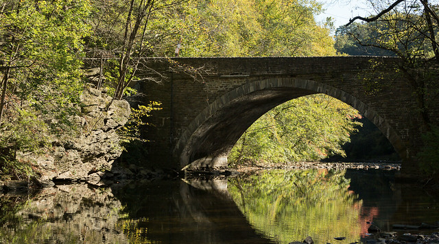 Wissahickon Creek Photo in Park