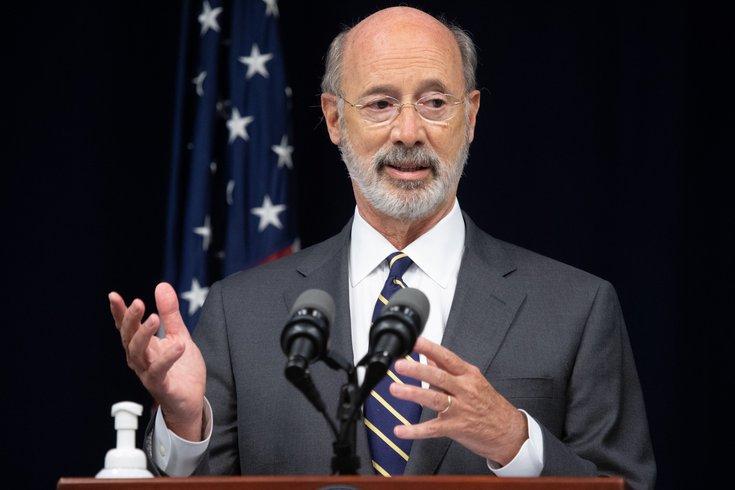 宾夕法尼亚州州长汤姆-沃尔夫(Tom Wolf)自周二检测COVID-19阳性以来,已两次检测COVID-19阴性。他和妻子,弗朗西斯-沃尔夫,目前仍处于隔离状态。弗朗西斯-沃尔夫,目前仍处于隔离状态。(photo:PhillyVoice)