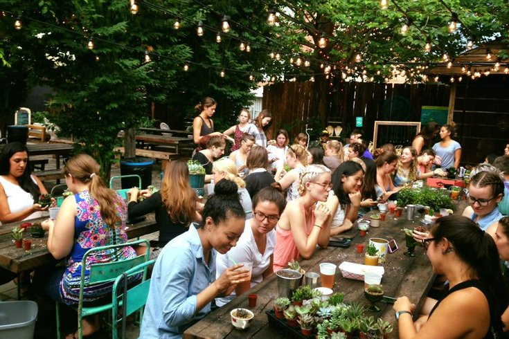 DIY workshop at South Street Beer Garden