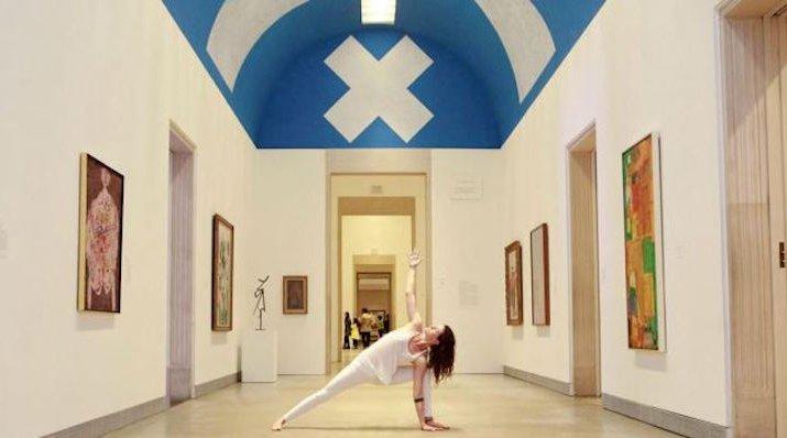 Yoga at the PMA