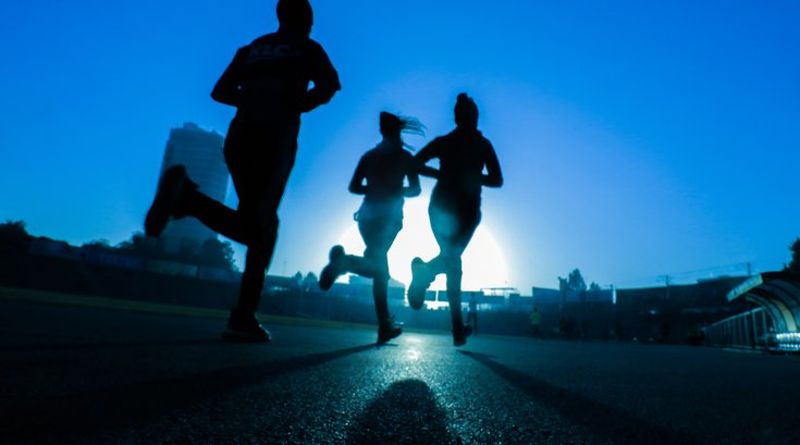Youth exercise study running