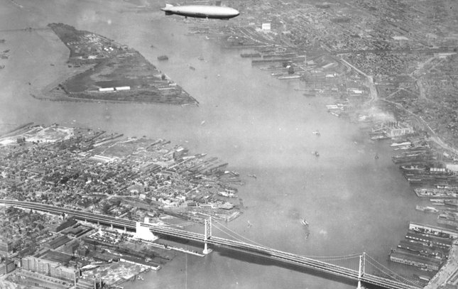 Ben Franklin Bridge construction 12
