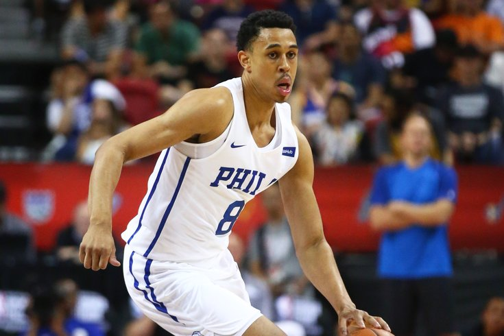half off 8956d 06bda Watch: Zhaire Smith threw down two ridiculous dunks in the ...